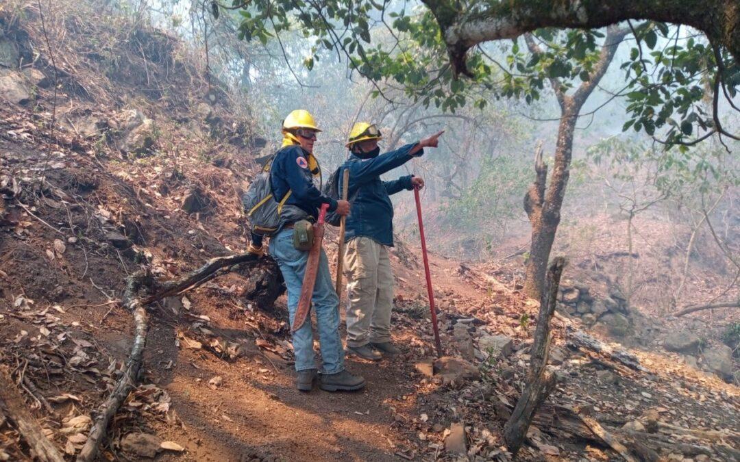 Avanza control de incendios en el estado