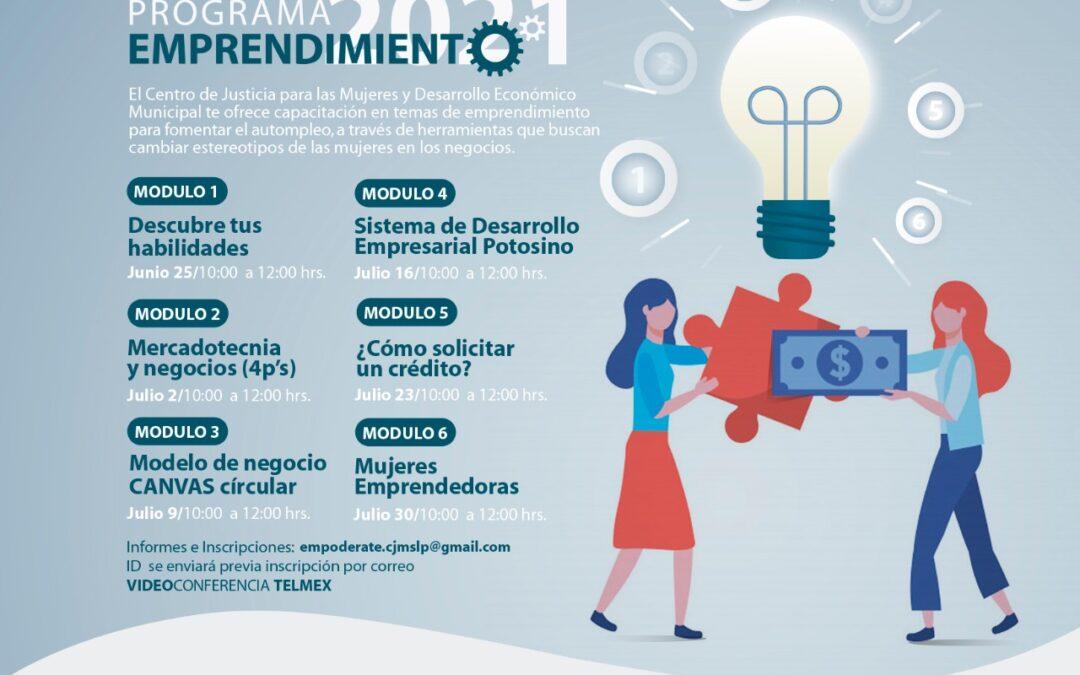 Con capacitación, fortalece CJM el proceso de emprendimiento de mujeres