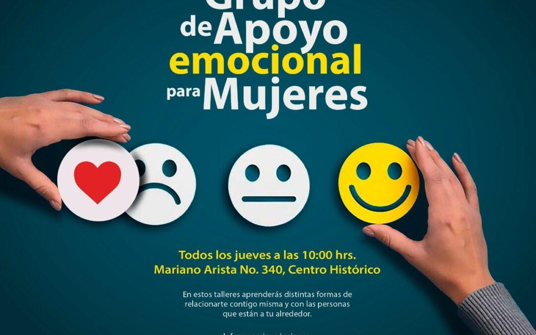 Fortalece Centro de Justicia para mujeres grupos de apoyo emocional