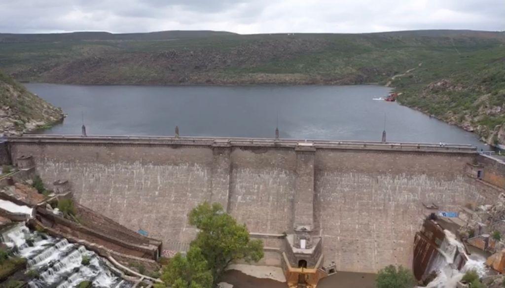 Presa San José al 100 porciento reporta CEA tras lluvias