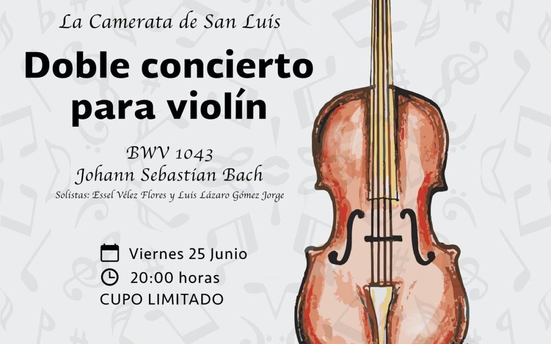 Primer concierto presencial de la Camerata de San Luis