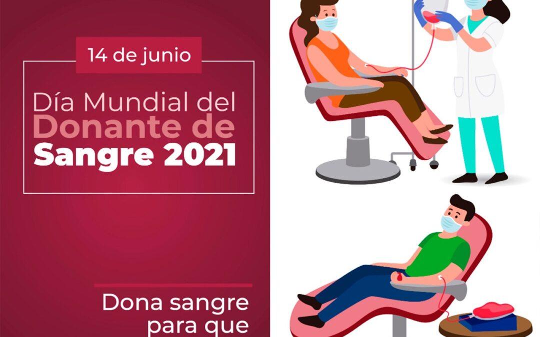 SS conmemora el día mundial del donante de sangre 2021