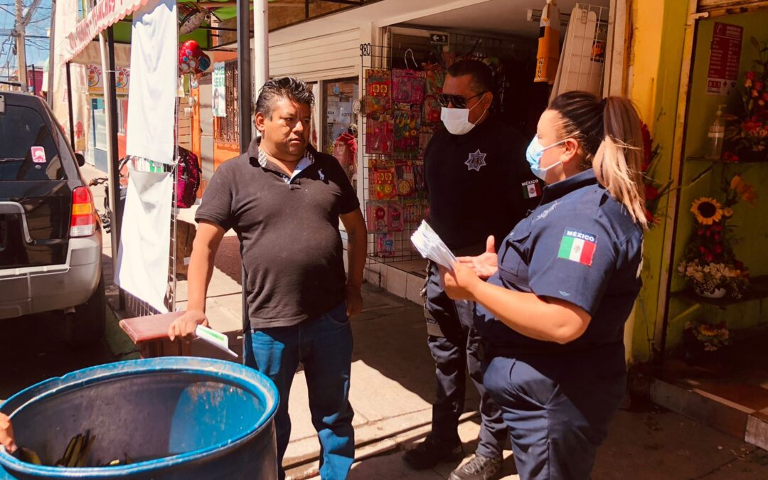"""Seguridad pública de Soledad implementa operativo """"Barredora"""""""