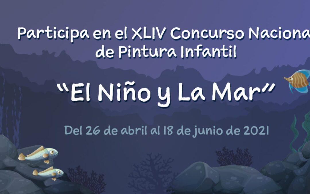 """Últimos días para participar en el XLIV concurso nacional de pintura infantil """"El Niño y la Mar"""""""